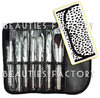 Mini Kit de 7 pinceles- Manta Print Leopardo- Beauties Factoy