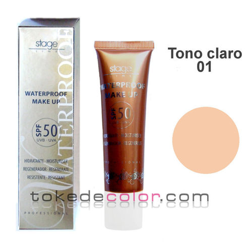 Waterproof Make Up- Tono 01