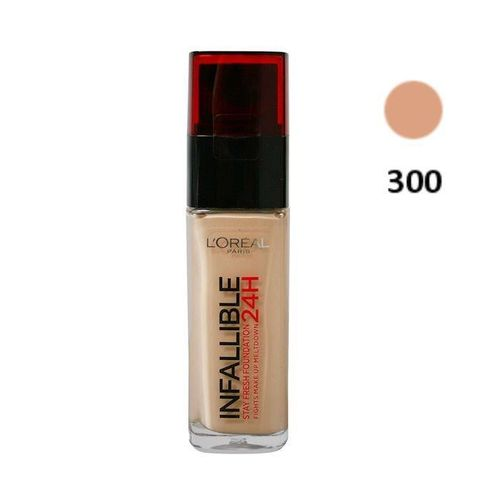 Makeup Foundation Infalible L'Oreal- 300 Amber