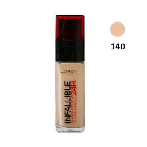 Base de Maquillaje Infalible L'Oreal- 140 Golden Beige