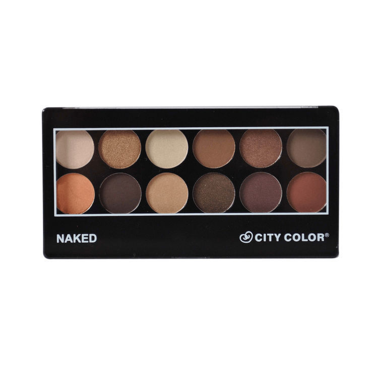 Naked Eyeshadow Palette - City Color ...