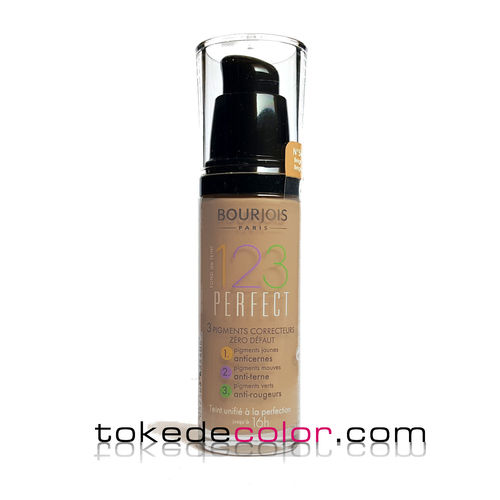 Makeup Foundation 123 Perfect- 54 Beige