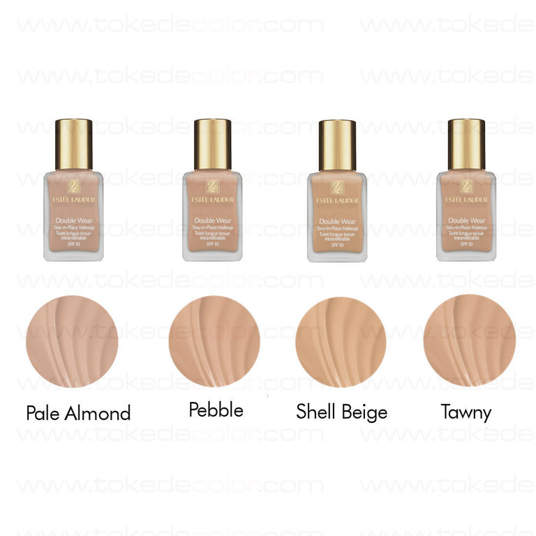 Double Wear Foundation Pebble Est Lauder Toke