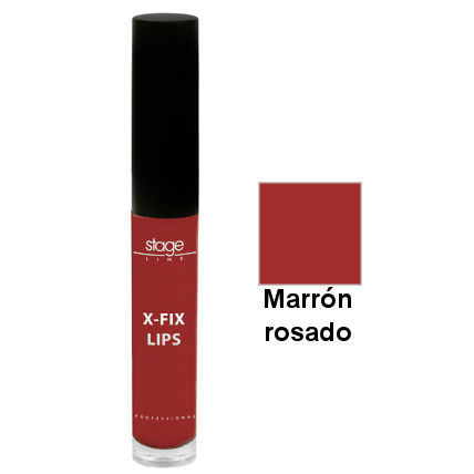 X-Fix Lips 04 Marron Rosado - Barra de labios permanente