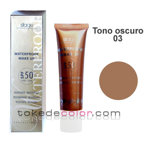 Waterproof Make Up- Tono 03