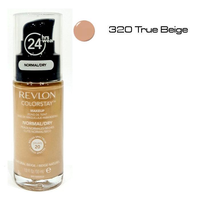 6f0d57701 ColorStay Maquillaje con dosificador piel normal/ Seca- 320 True Beige