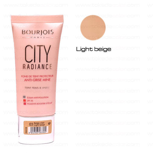 BOURJOIS Maquillaje CITY RADIANCE 03 Light Beige