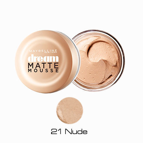 21 Nude Maquillaje Dream Matte Mousse Maybelline