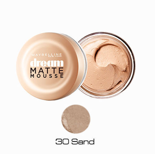 30 Sand Maquillaje Dream Matte Mousse Maybelline