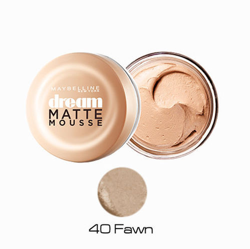 40 Fawn Maquillaje Dream Matte Mousse Maybelline