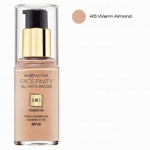 Warm Almond 45 Face Finity 3 in 1 Max Factor