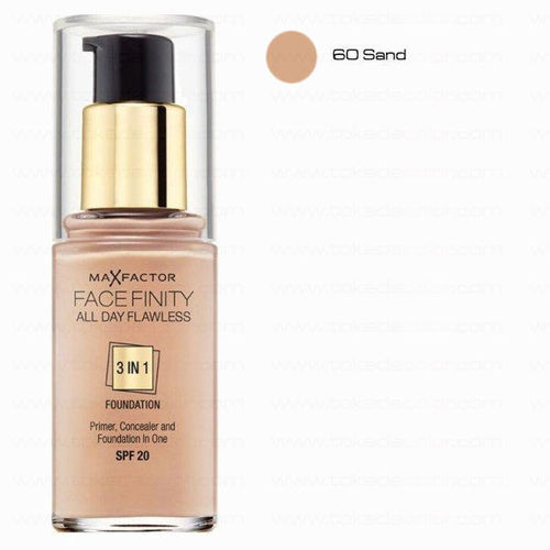 Sand 60 Face Finity 3 in 1 Max Factor