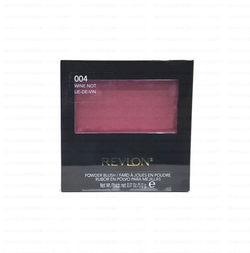 Colorete en polvo POWDER BLUSH REVLON 004 Wine not