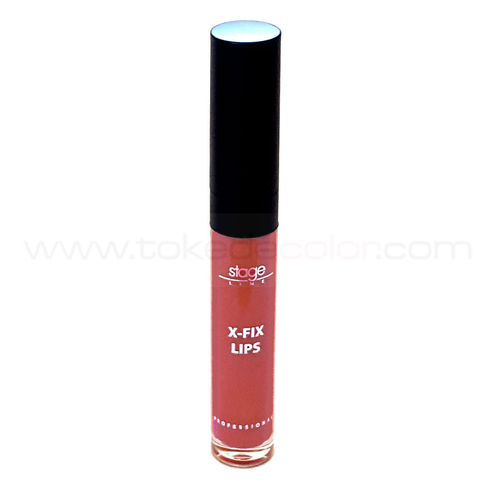 X-Fix Lips 08 Tono Rojo anaranjado - Barra de labios permanente