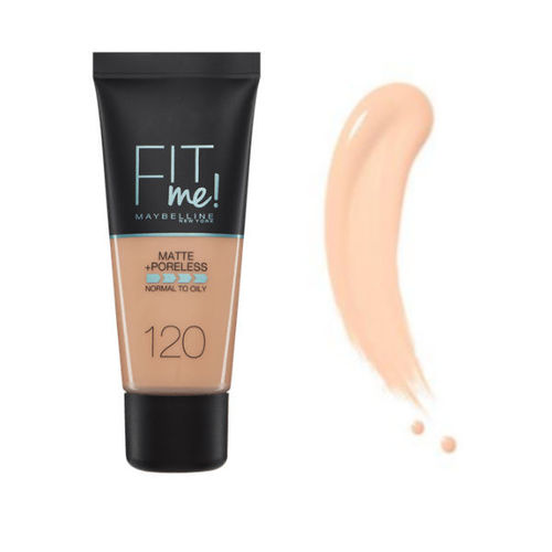 Maybelline - Fit Me 120 Classic Ivory fluid foundation