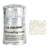 Pigmento Shimmering loose Eyeshadow- Snow White