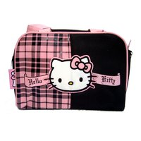 Neceser mediano de cuadros Hello Kitty