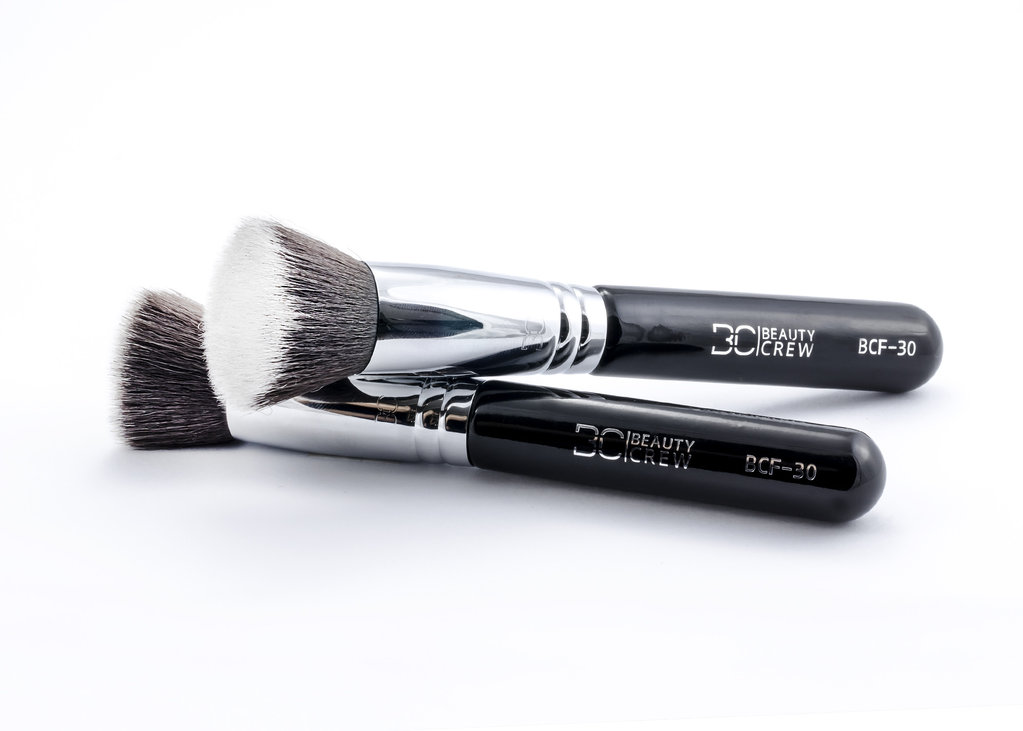 BCF-30 Flat brush for liquid makeup and primer - Beauty Crew