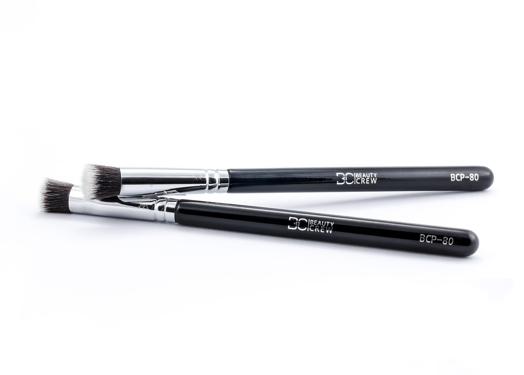 BCP-80 Eyes and face precision Brush- Beauty Crew