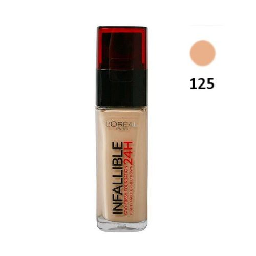 Makeup Foundation Infalible L'Oreal- 125 Natural Rose