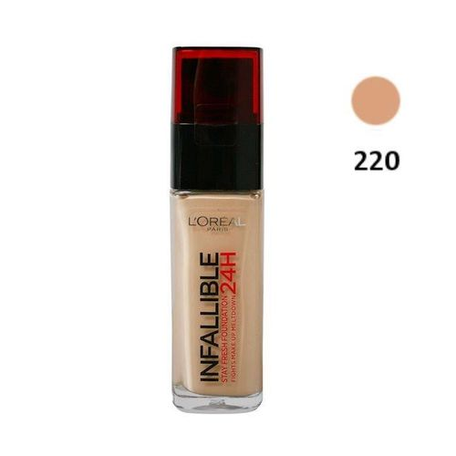 Makeup Foundation Infalible L'Oreal- 220 Sand