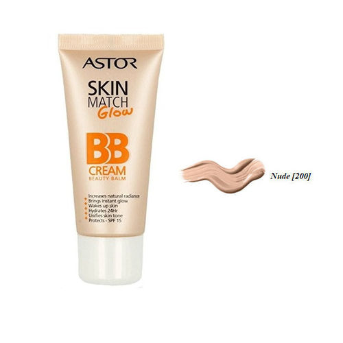 Skin Match Care Glow BB Cream Astor 200 Nude