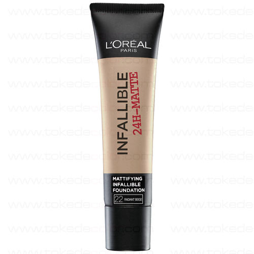 Foundation Infallible Matte L'Oreal-  22 Radiant Beige