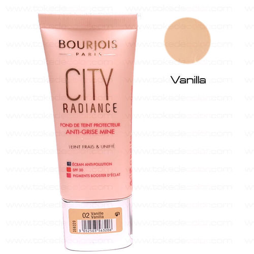 BOURJOIS PARIS Maquillaje CITY RADIANCE 02 Vanille