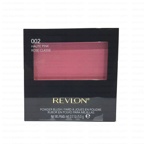 Colorete en polvo POWDER BLUSH REVLON 002 Haute Pink