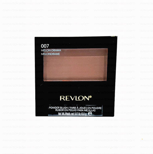 Colorete en polvo POWDER BLUSH REVLON 007 Melon-Drama