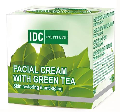 Gree Tea Face Cream - From Nature