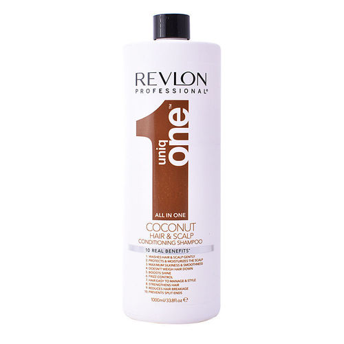 Uniq ONE Conditioning Shampoo. Coconut scented. 10 real benefits.